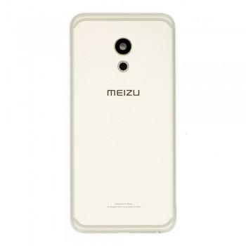 Задняя крышка для Meizu Pro 6 (M570) (Silver)