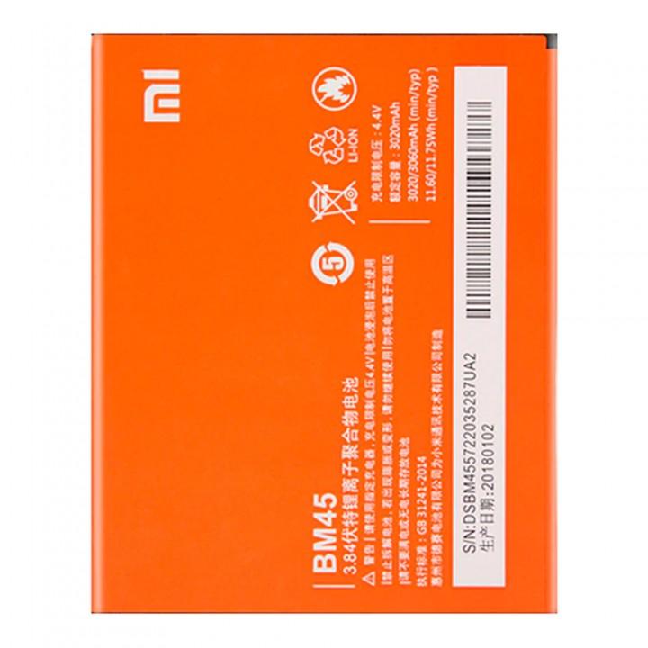 Аккумулятор Xiaomi BM45 для Xiaomi Redmi Note 2 (3020 mAh)