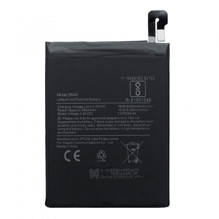 Аккумулятор Xiaomi BN48 для Xiaomi Redmi Note 6 Pro (3900 mAh)