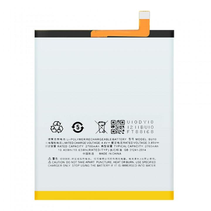 Аккумулятор BU10 для Meizu U10 (2760 mAh)