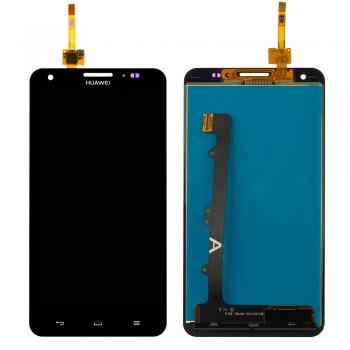 Дисплей Huawei G750 Honor 3X с тачскрином (Black)