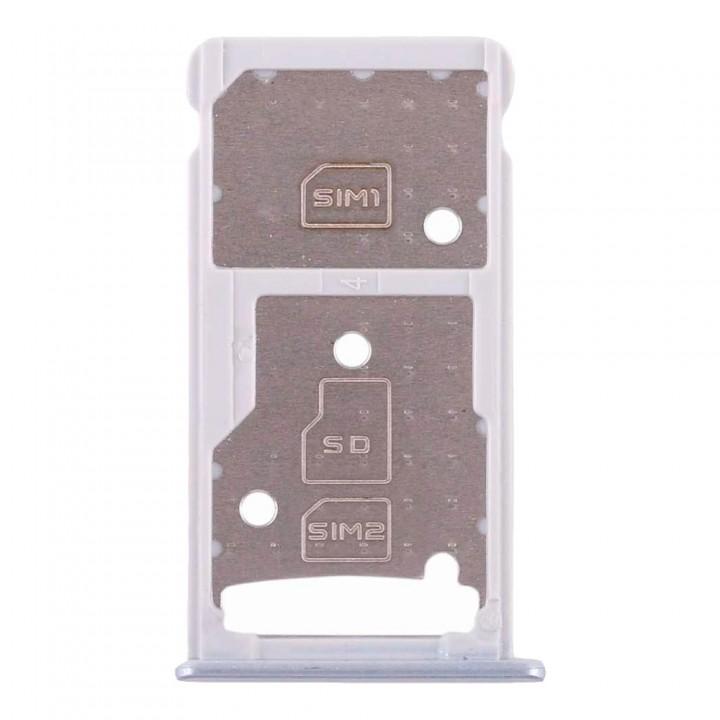 Держатель SIM-карты для Huawei Honor 7 Lite (Silver) (Original PRC)