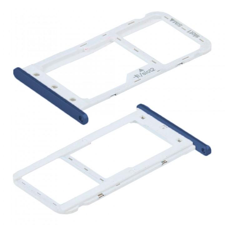 Держатель SIM-карты для Huawei Enjoy 7 (Blue) (Original PRC)