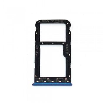 Держатель SIM-карты для Huawei Enjoy 7S (Blue) (Original PRC)