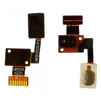Шлейф Lenovo S820 с кнопкой вкл/выкл и датчиком освещенности