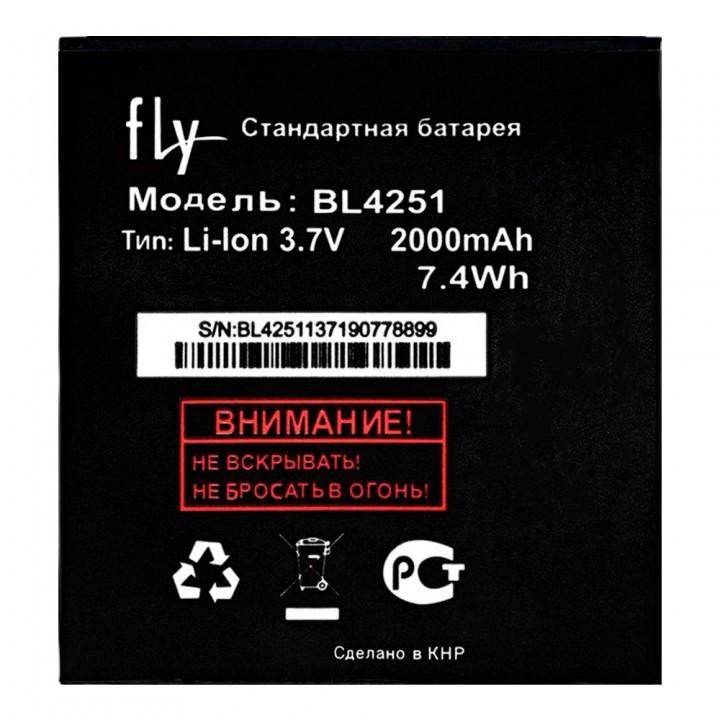Аккумулятор Fly BL4251 для Fly IQ450 Horizon / IQ450 Quattro Horizon 2 (2000 mAh)