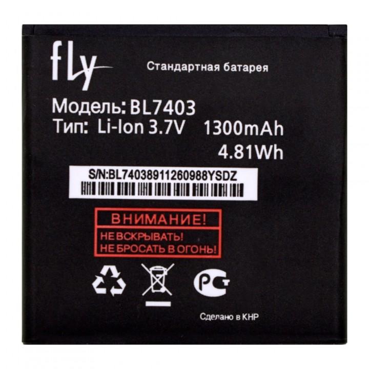 Аккумулятор Fly BL7403 для Fly IQ431 Glory / IQ432 Era Nano 1 (1300 mAh)