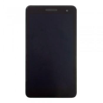 Дисплей Huawei MediaPad T1-701U с тачскрином (Black) в рамке