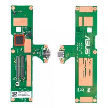 Нижняя плата Asus ME571K Nexus 7 II (2013) с разъемом зарядки и компонентами