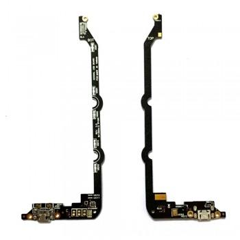 Нижняя плата Asus ZenFone 2 (ZE500KL) с разъемом зарядки и микрофоном