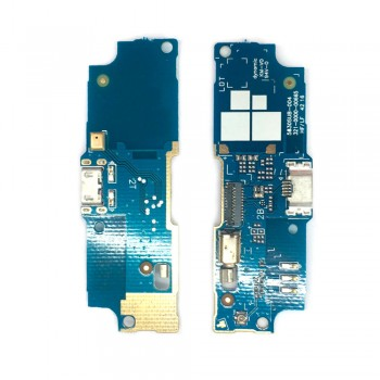 Нижняя плата Asus ZenFone Go (ZB552KL) с разъемом зарядки и микрофоном