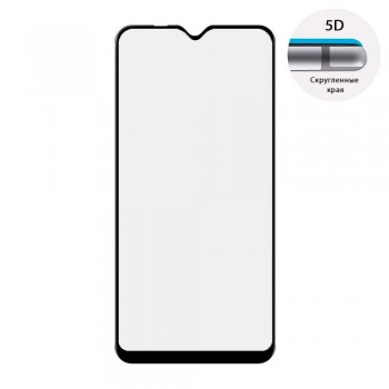 Защитное стекло 5D Full Glue для Samsung Galaxy A10 / M10 (Black)