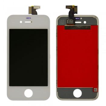 Дисплей iPhone 4s с тачскрином (White) Original PRC в рамке