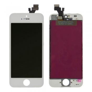 Дисплей iPhone 5 с тачскрином (White) Original PRC в рамке