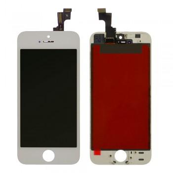 Дисплей iPhone 5s / SE с тачскрином (White) Original PRC в рамке