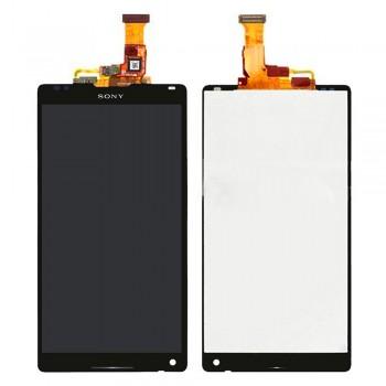 Дисплей Sony C6502 L35h Xperia ZL с тачскрином (Black)