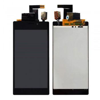 Дисплей Sony D2302 Xperia M2 Dual с тачскрином (Black) Original PRC