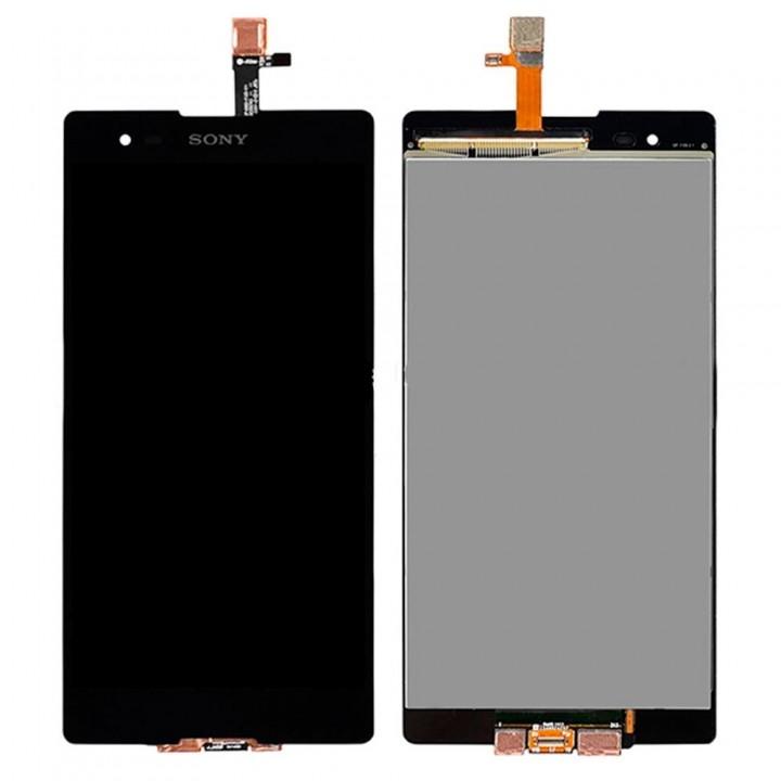 Дисплей Sony D5322 Xperia T2 Ultra DS с тачскрином (Black)