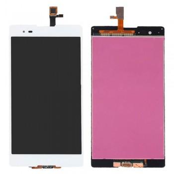 Дисплей Sony D5322 Xperia T2 Ultra DS с тачскрином (White)