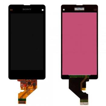 Дисплей Sony D5503 Xperia Z1 Compact Mini с тачскрином (Black)