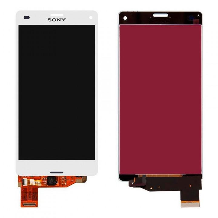 Дисплей Sony D5803 Xperia Z3 Compact Mini с тачскрином (White)