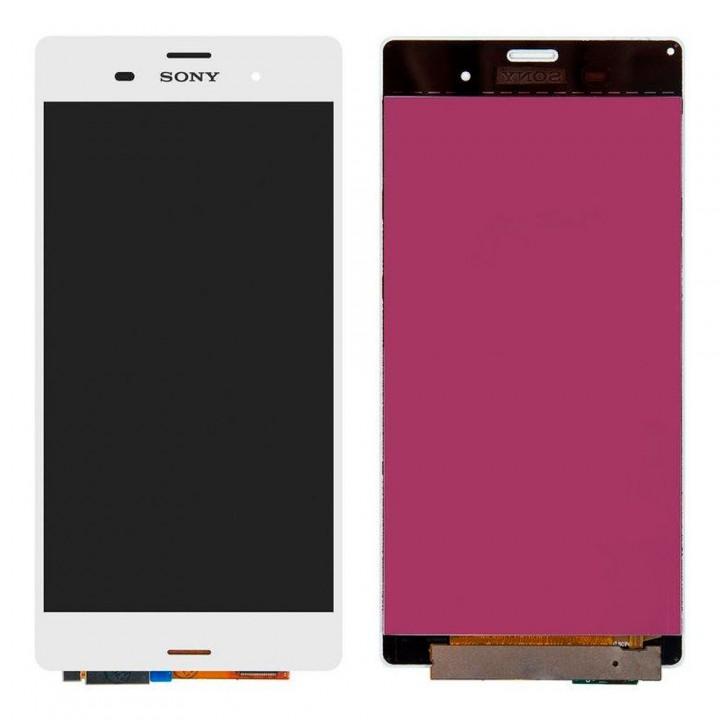 Дисплей Sony D6603 Xperia Z3 с тачскрином (White) Original PRC