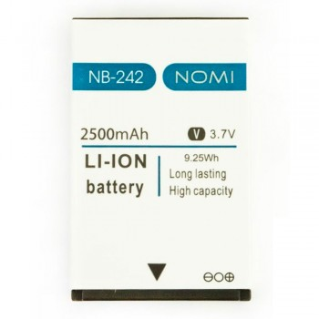 Аккумулятор Nomi NB-242 для Nomi i242 (2500 mAh)