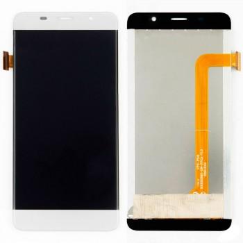 Дисплей Bravis S500 / Leagoo M5 Edge с тачскрином (White)
