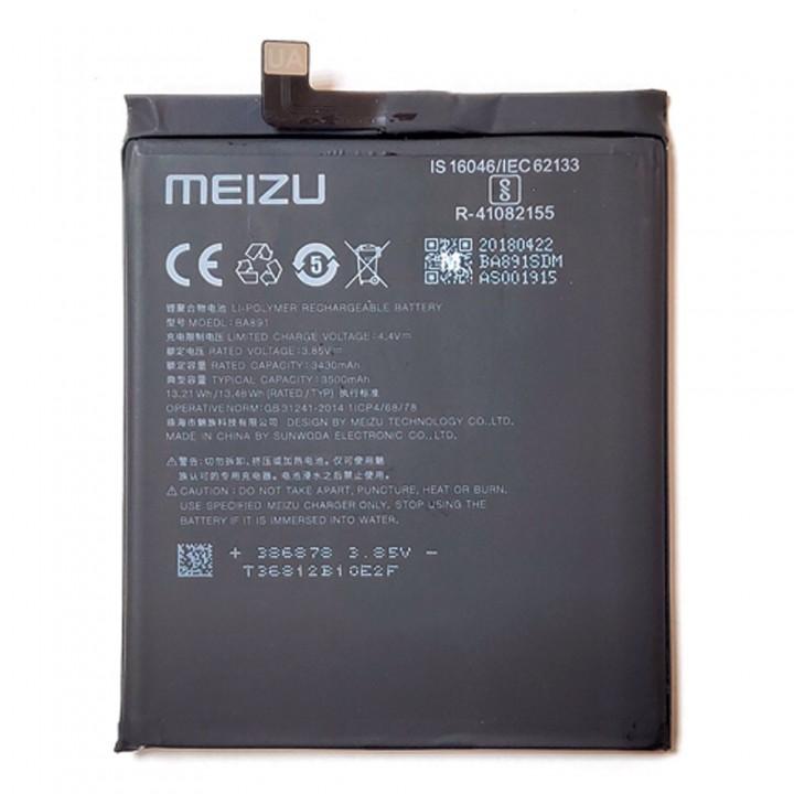 Аккумулятор BA891 для Meizu 15 Plus (3430 mAh)