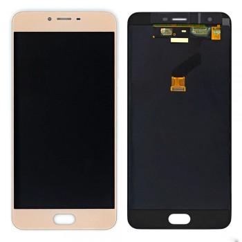 Дисплей Meizu M3X с тачскрином (Gold)