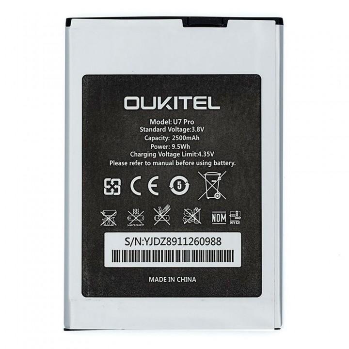 Аккумулятор Bravis A551 / Oukitel U7 Pro (2500 mAh)