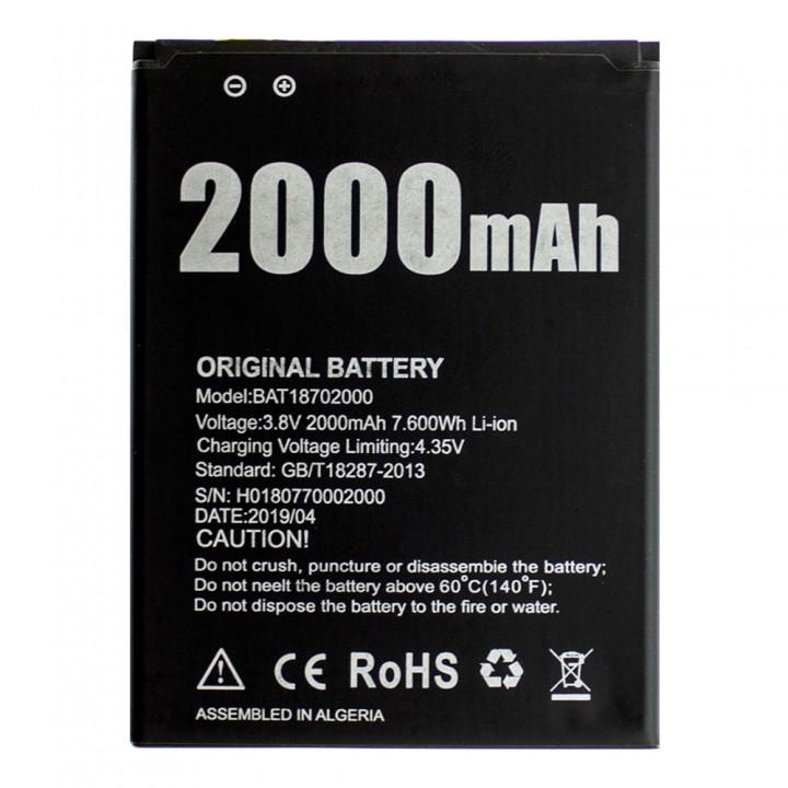 Аккумулятор Doogee BAT18702000 (2000 mAh)