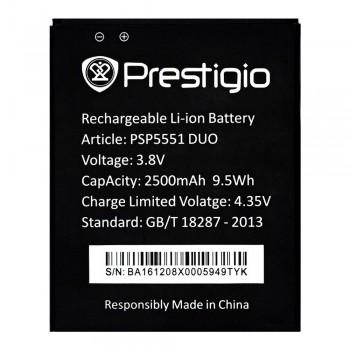 Аккумулятор Prestigio PSP5551 DUO (2500 mAh)