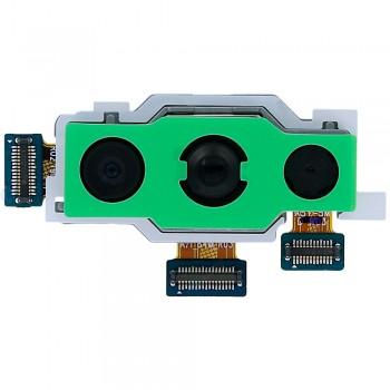 Основная камера для Samsung A715F Galaxy A71 (64MP + 12MP + 5MP)