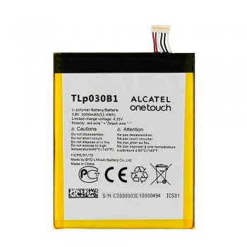 Аккумулятор Alcatel TLp030B1 / TLp030B2 (3000 mAh)