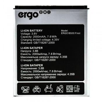 Аккумулятор Ergo B500 First (2000 mAh)