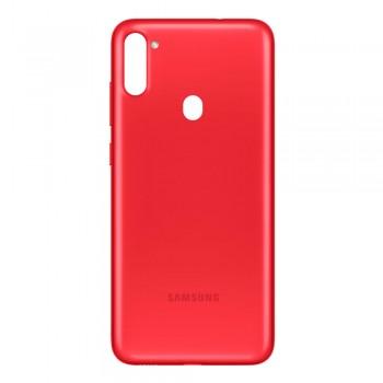 Задняя крышка для Samsung A115 Galaxy A11 (Red) Original PRC