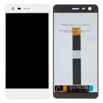 Дисплей Nokia 2 с тачскрином (White) Original PRC