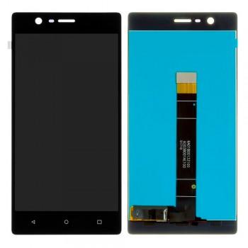 Дисплей Nokia 3 с тачскрином (Black)