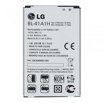 Аккумулятор LG BL-41A1H для LG D390 / F60 / F60 / LS660 Tribute (2100 mAh)