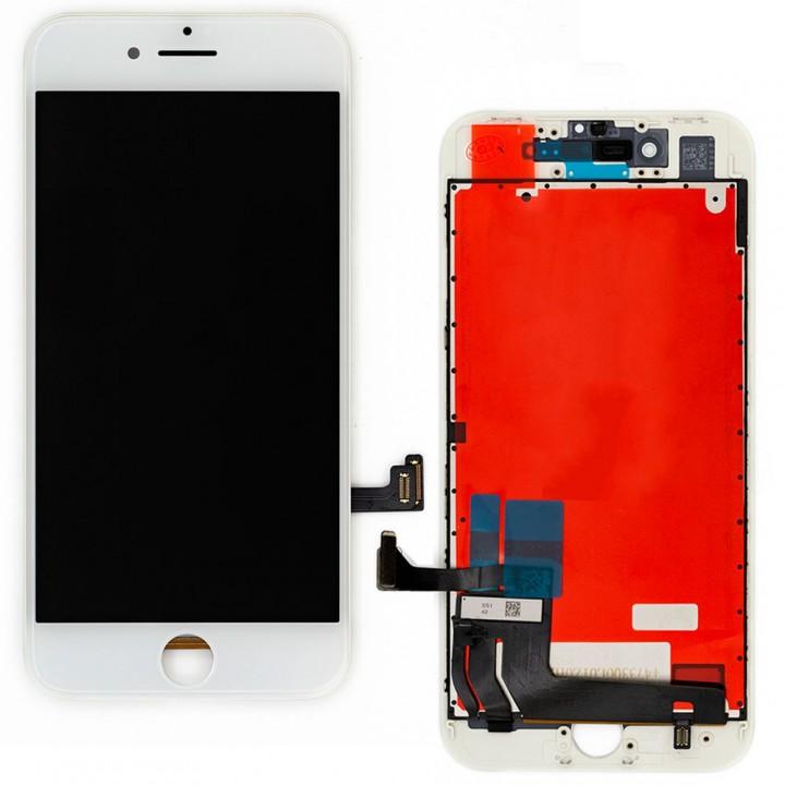 Дисплей iPhone 8 / SE (2020) с тачскрином (White) On-Cell в рамке