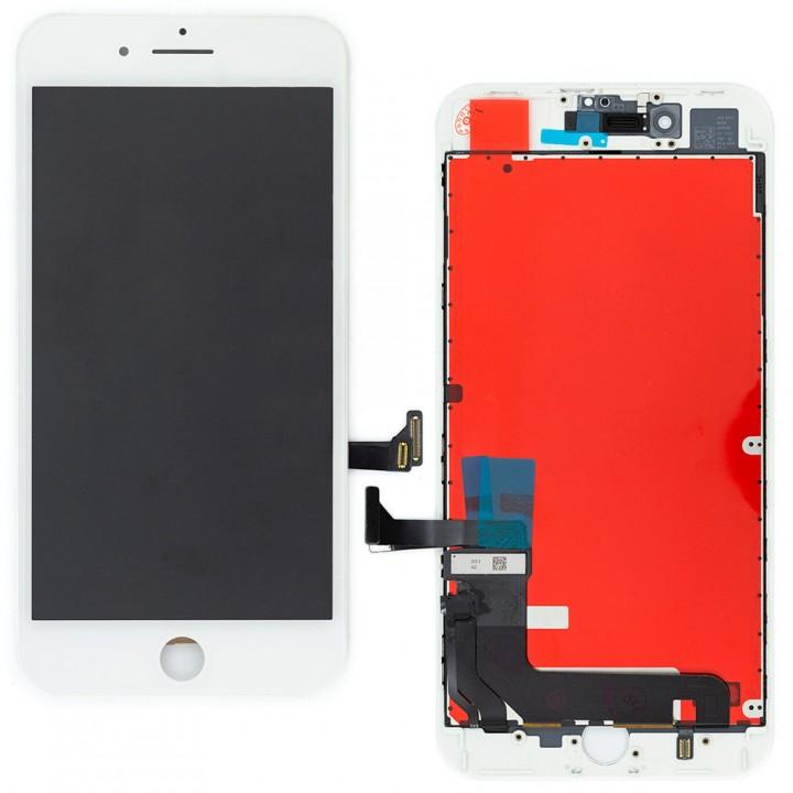 Дисплей iPhone 8 Plus с тачскрином (White) Service Original в рамке