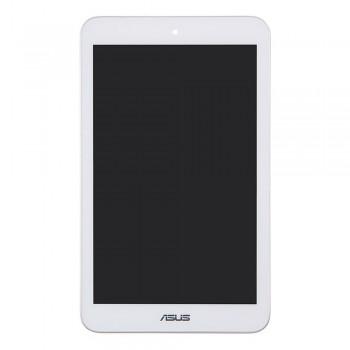 Дисплей Asus ME180A MeMO Pad8 K00L с тачскрином (White) в рамке