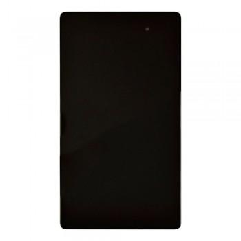 Дисплей Asus ME572CL Google Nexus 7 2013 с тачскрином (Black) в рамке