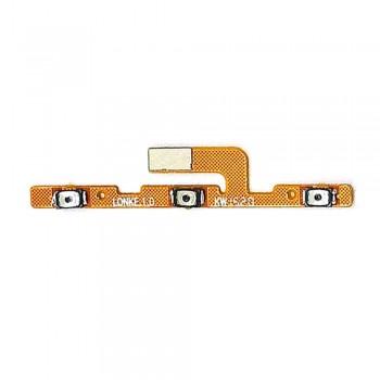 Шлейф Meizu MX5 с кнопкой вкл/выкл и регулировки громкости