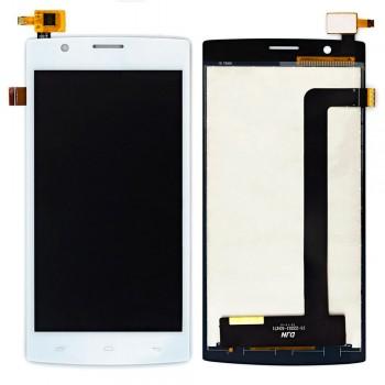 Дисплей Fly FS501 Nimbus 3 с тачскрином (White)