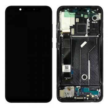 Дисплей Xiaomi Mi 8 с тачскрином (Black) Original PRC в рамке