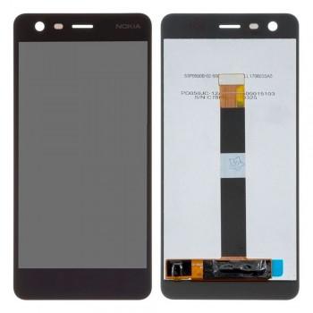 Дисплей Nokia 2 с тачскрином (Black)