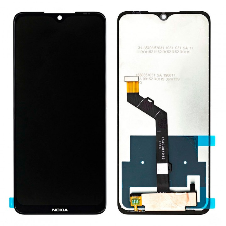 Дисплей Nokia 7.2 с тачскрином (Black) (Original PRC)