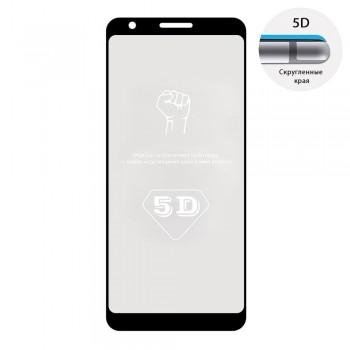Защитное стекло 5D Full Glue для Google Pixel 3A XL (Black)
